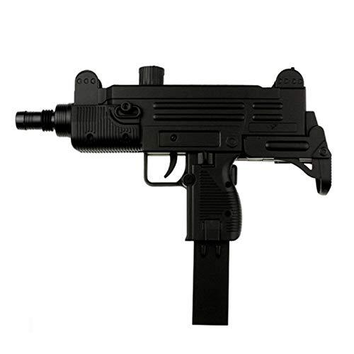 Pistole Airsoft Federdruck Maschinenpistole Plastik Replika Mini Uzi + 1000 Stück Plastik muniton 6 mm BB
