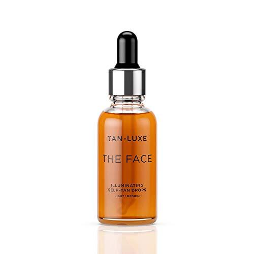 Tan-Luxe Illuminating Serum Self Tan Facial Drops 30ml