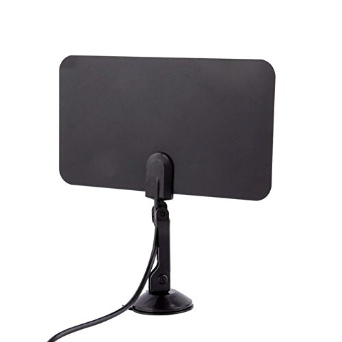 Velidy Indoor Slim Flat TV Antenna HD TV Scout TVFox Kind High Def HDTV VHF UHF DTV IEC High-def-tuner