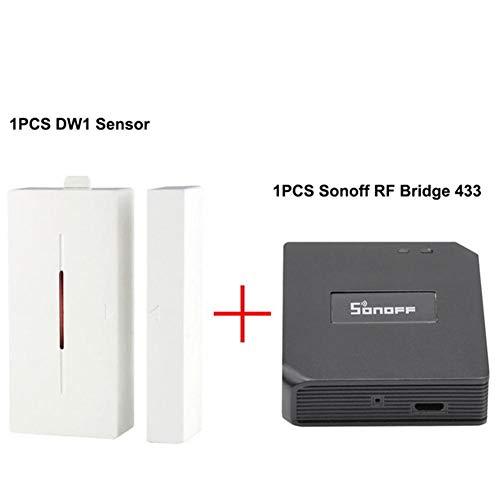 F-dujin RF Brücke, drahtloser Fernsteuerungsschalter, drahtlose Wi-Fi-Fernbedienung, magnetisches RF-Brückengateway, Unterstützung APP-Steuerungsfernbedienung