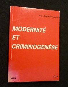 Modernité et criminogenèse par Italie) Conférence Aquinas sur la responsabilité civique (2e : 1987 : Rome