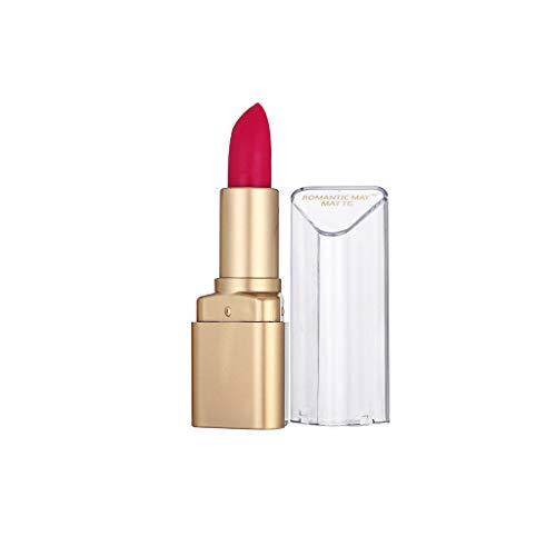 BOLANQ Lippenstift-Wasserdichte Langlebige Mattlippenstift-Kosmetische SchöNheits-Make-UpschöNheit - Banane Olivenöl