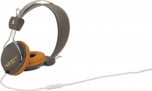 WESC Bongo Cuffie con vivavoce e adattatore per Sony Ericsson e Nokia