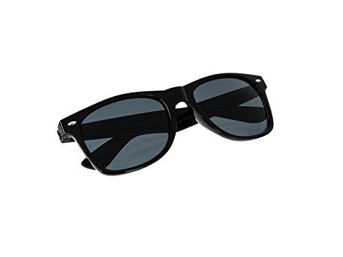 Preisvergleich Produktbild AKF Sonnenbrille mit AKF Logo - Schwarz / Rauchgrau