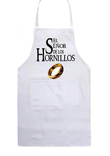SAQUITOMAGICO Delantal Cocina El señor