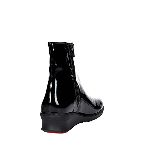 Cinzia Soft CAMP.ST1 Bottines À Semelle Compensées Femme Noir