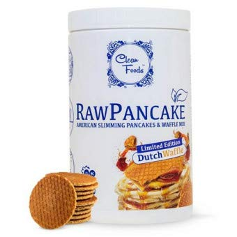 Preparado Tortitas Low-Carb Raw Pancake sabor Gofre