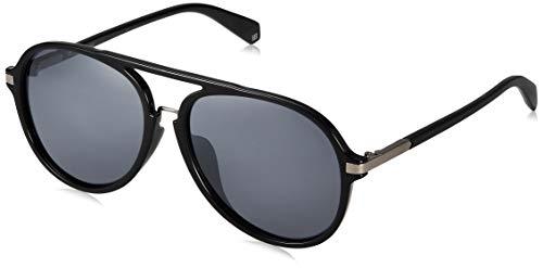 Polaroid Herren PLD 2077/F/S Sonnenbrille, Mehrfarbig (Black), 58