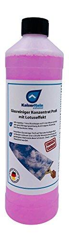 KaiserRein Glasreiniger Konzentrat mit Lotuseffekt 1L (1000ml) unser Lotus Fenster-Reiniger Fenstersauger geeignet