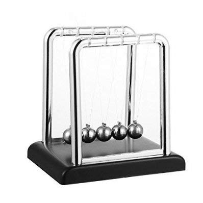 Newton Cradle Large Balance Ball 18cm, Desk Toy & Gadget, Newton Pendulum, Relive Stress