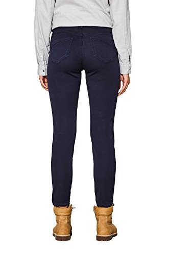 edc by Esprit, Pantaloni Donna Blu (Navy 400)