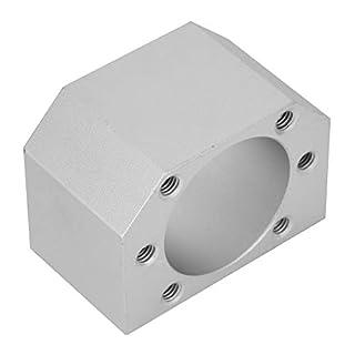 Keenso DSG25H Mutterhalter Aluminiumlegierung CNC-Kugelgewindemutter-Gehäuse Halterung für Kugelgewindetriebe