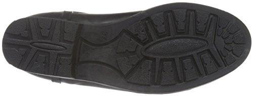 Marc O'Polo - Gummistiefel, Stivali bassi con imbottitura leggera Donna Nero (Nero (black 990))