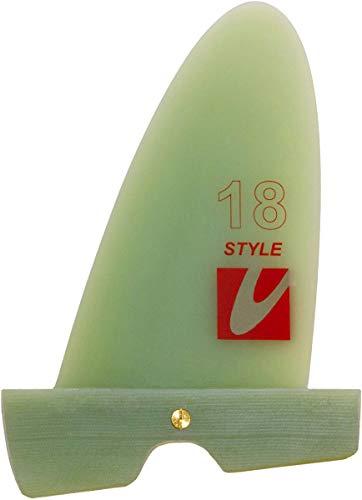 Maui Ultra Fins MUF Style Windsurf Freestyle Finne, Finnenlänge:24cm, Finnen Box:Slot Box -