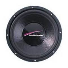 38,1 cm (15 Zoll) Subwoofer, 500W, 2x4 Ohm, Alukorb, 60 Oz Magnet, Fs 28,2Hz, Qts 0,49, VAS 132L, SPL 93,4dB, Einbaut. (Audiobahn Auto Subwoofers)