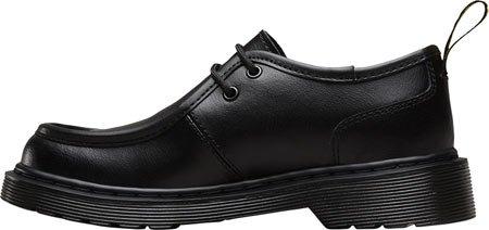 Dr Martens Juniors Noir Hambleton Moc Toe Chaussures Noir