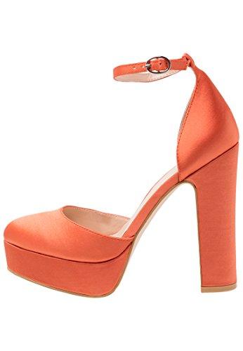 Even&Odd Plateau Pumps für Damen Orange 37