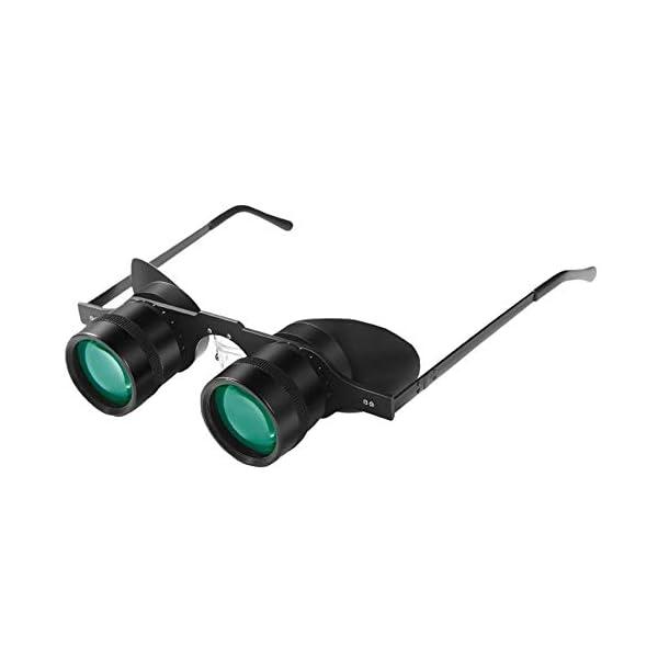 Luz Baja Visión Nocturna Telescopio Binoculares De Pesca, Telescopio Binoculares De Visión Nocturna Lupa Gafas Lupa… 1