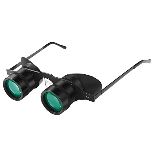 Sue Supply Tragbare Fernglas-Brille Stil Teleskop Angeln Teleskop Ultralight 10 x Brille Style Focus Fernglas Teleskop Fernglas für Urlaub Machen Angeln Outdoor