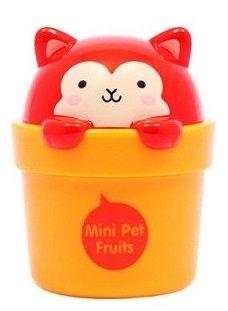 The Face Shop - Mini Pet – 02 Fruits Note de mangue & de pêche - Crème Mains