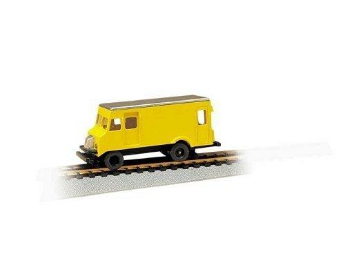 Bachmann Rail Detector Step Van with High Railers Powered HO Scale by Bachmann Industries Inc. - Step Rails