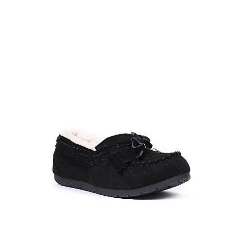 Ideal Shoes, Mocassini donna Nero