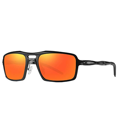 TIANZly Sport-Sonnenbrille-Mann-PolarisierteSonnenbrille-Übergroße Schutzbrillen-Sonnenbrille-Aluminiummagnesiumlegierung