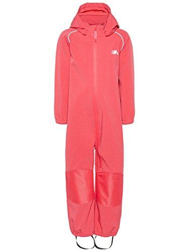 NAME IT Mädchen Softshellanzug Regenanzug Nitalfa 8000 mm, Größe:86, Farbe:Teaberry