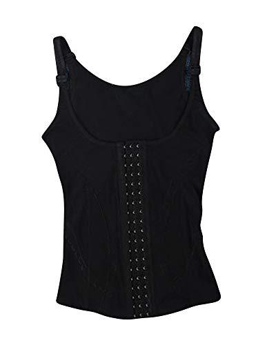 Donna body snellente aperto busto regolabile shapewear corsetto bustino shaper modellante taglie forti nero 3xl