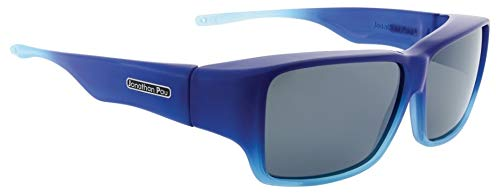 Jonathan Paul OOGEE Überbrille - L - rechteckig Ombree Grey - Blau - 100% UV-Schutz bis 400 mm