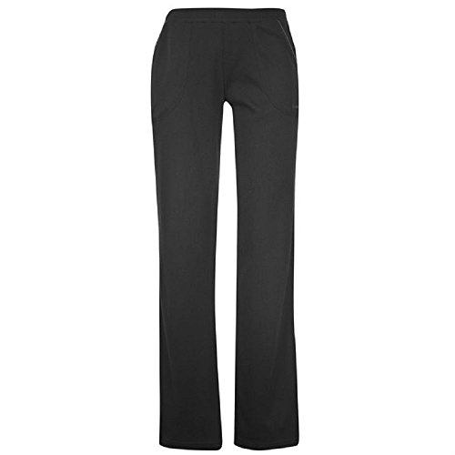 ladies-la-gear-jogging-bottoms-fitness-pants-black-size-14