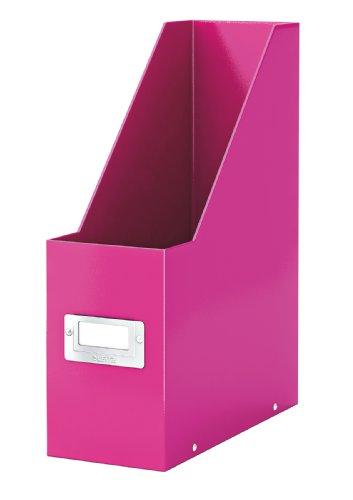 Leitz 60470023 Click&Store Cassettiere, Colore Fucsia, Portariviste A4