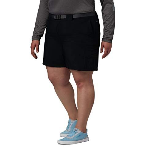 Der Columbia Frauen Sandy River Cargo Short Shorts, schwarz, Mx6