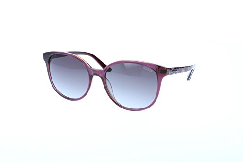 Guess - GU7383, Oversize, Acetat, Damenbrillen, ANTIQUE ROSE COLORED FANTASY/VIOLET GREY...