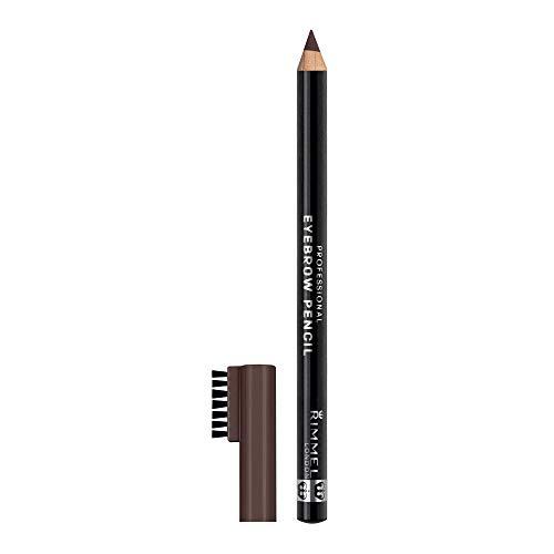 Rimmel Eyebrow Pencil, Dark Brown, 1.4 g