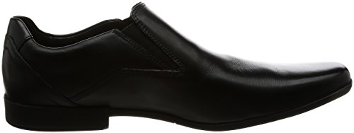 Clarks Clarks Hommes Chaussures Glement Slip Noir Cuir Noir