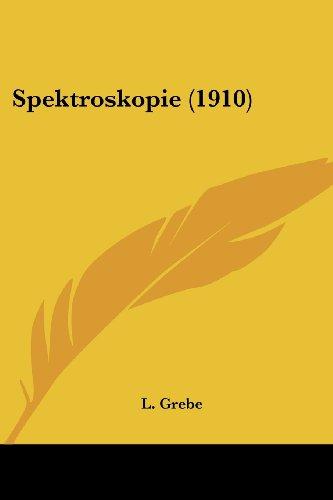 Spektroskopie (1910)