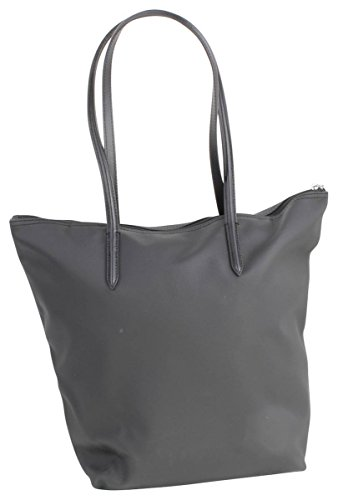 Lacoste Sac Femme L1212 Concept Vertical Shopper Tasche 39 cm Black