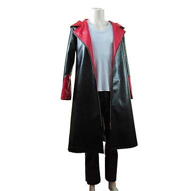 Sunkee Devil May Cry 5 Dante Windbreaker Cosplay Kostüm ( Kein T-Shirt ), Größe S ( Alle Größe Sind Wie Beschreibung Gesagt, überprüfen Sie Bitte Die Größentabelle Vor Der Bestellung - Dante Aus Devil May Cry Kostüm