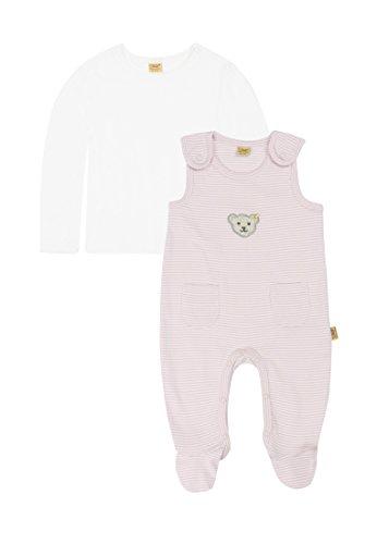Steiff Unisex Baby 6605 Strampler, Rosa (Barely Pink 2560), (Herstellergröße: 62)