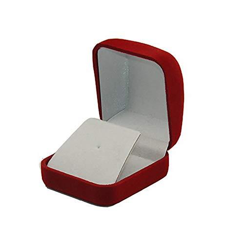 1Stk Velvet Display Box für 1 Große Münze Kapsel/Herausforderungs Münze  Äußere Red Inner Schwarz Home Zubehör -