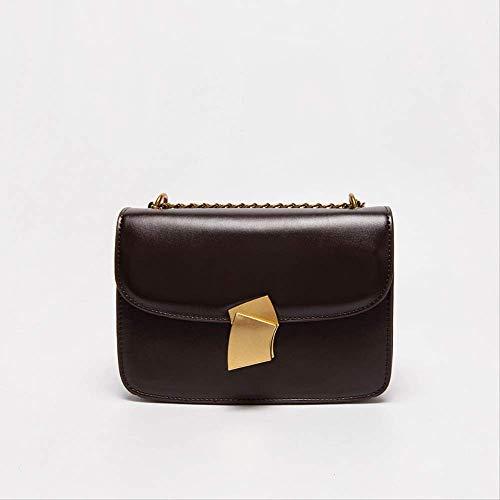 MUZIBAG Geschenk-Box Französisch hochwertigen westlichen Stil Nische Umhängetasche Mode einfache kleine quadratische TascheKaffee Farbe - Individuelle Kaffee-pakete