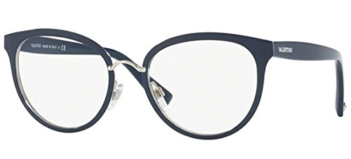 Valentino - VA 1004, Rechteckig, Metall, Damenbrillen, BLUE(3010), 50/19/140