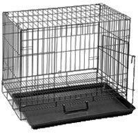 Dogit Animal Dog Cage, Large, Black by Dogit