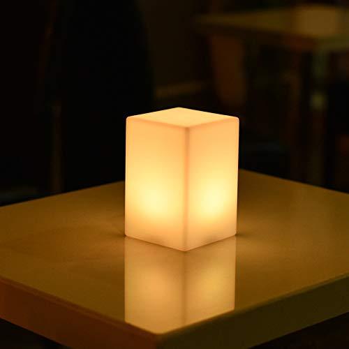 LED licht zylindrische tischlampe studie schlafzimmer einfache tischlampe ## 2 quadratische tischlampe 10 * 15 (batterie modelle) -