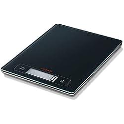 Soehnle Balance Électronique Page Profi, pèse aliment écran large multi fonctions Tare & Hold, balance alimentaire capacité 15 kg, balance de cuisine