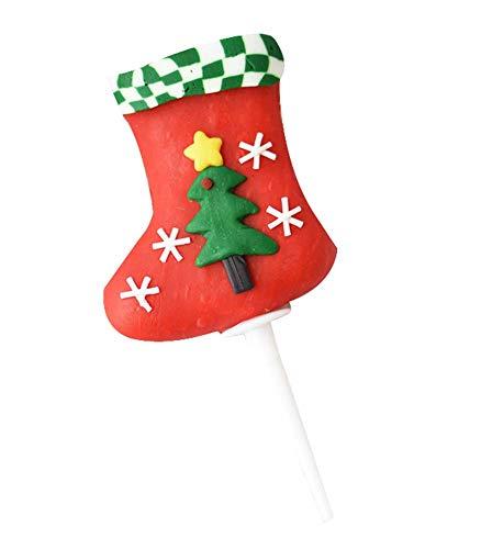 2 Stück Weihnachten Cupcake Toppers, Cupcake Dekoration für Zuhause/Party, A3 (Halloween Uk Cupcakes Dekorationen)