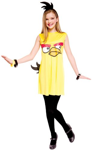Paper Magic Angry Birds Child Dress Costume, Yellow, Medium by Paper Magic
