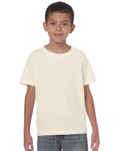 Gildan Heavy T-Shirt für Kinder Weiß - Weiß