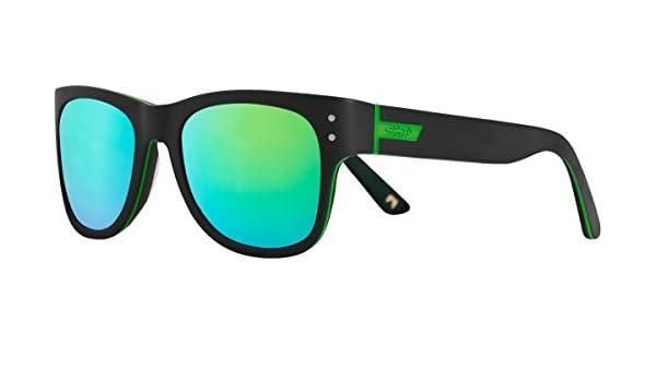 Shred Sonnenbrille Belushki Don, Black/Green, DSGBLSE41